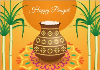 Pongal Background 001