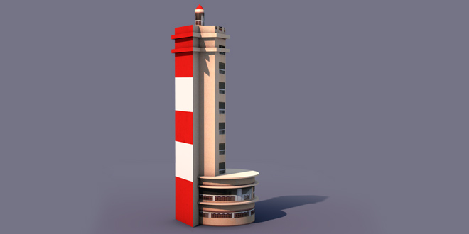 chennai merina light house 3D MODEL FREE DOWNLOAD | Fxcave com