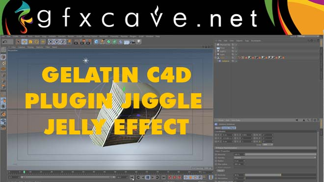 The Gelatine deforme c4d Plugin Free Download