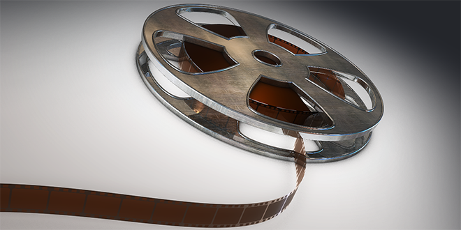 Film Spool 3ds Model FREE DOWNLOAD