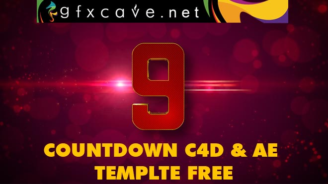 Countdown C4d and Ae Template Free download
