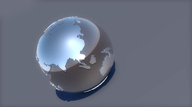 Globe 001 cinema 4d Model Free Download