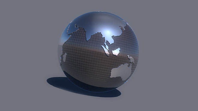 Globe 002 cinema 4d Model Free Download
