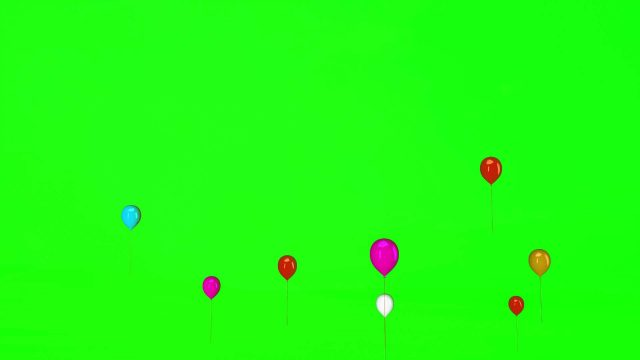 Flying Balloon Footage 002