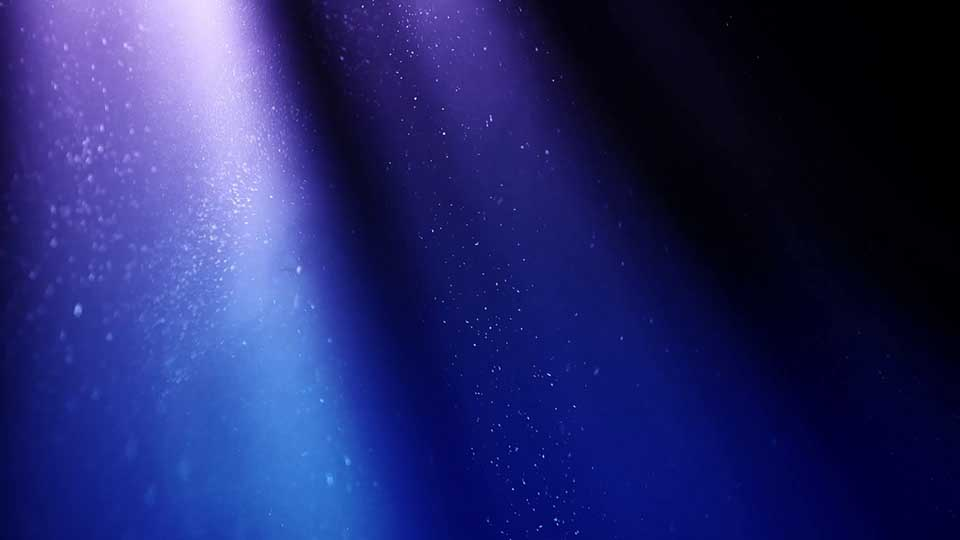Blue Rays Particle Background 001