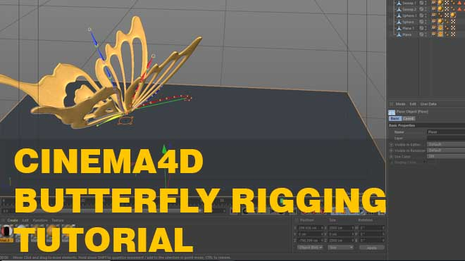 Butterfly Rigging Tutorial