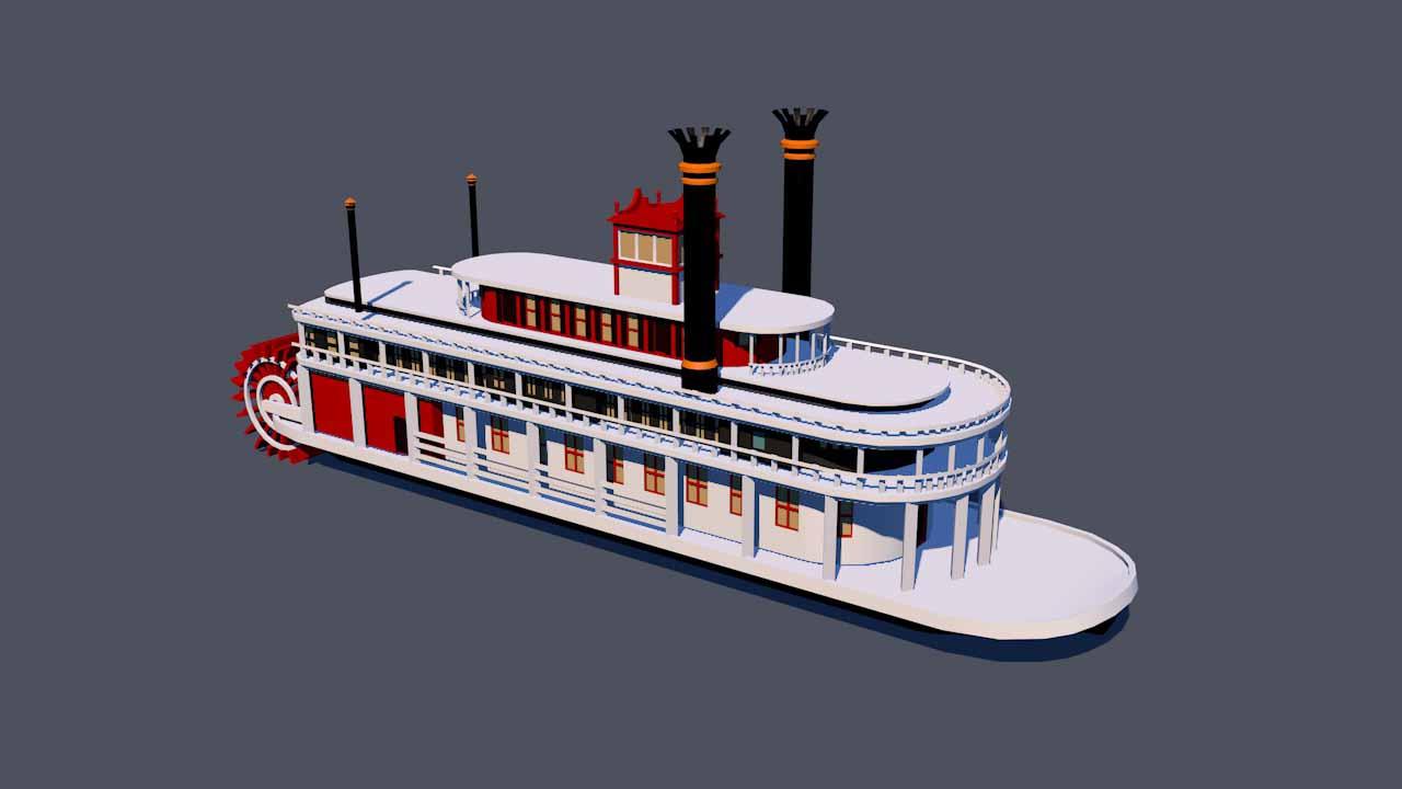 Padlboat