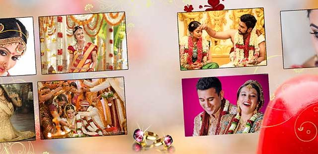 Saree Design Wedding Album PSD Template 01