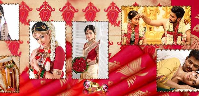Saree Design Wedding Album PSD Template 07