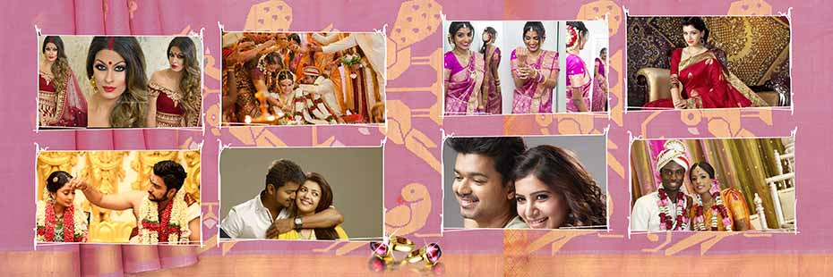 Saree Design Wedding Album PSD Template 09