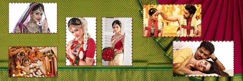 Saree Design Wedding Album PSD Template 013