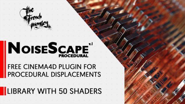NoiseScape Free Plugin (C4d)