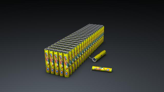 Kuruvi Crackers Bundle Cinema 4d model Free Download
