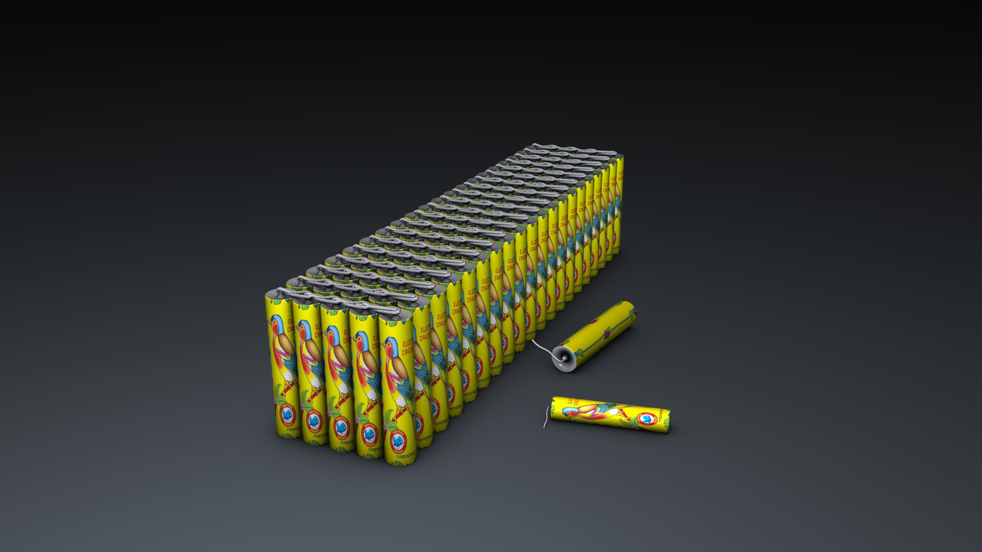 Kuruvi Crackers Bundle Cinema 4d model Free Download