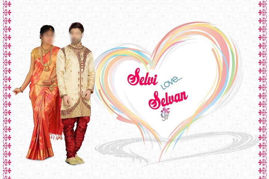 Wedding Invitation design 001