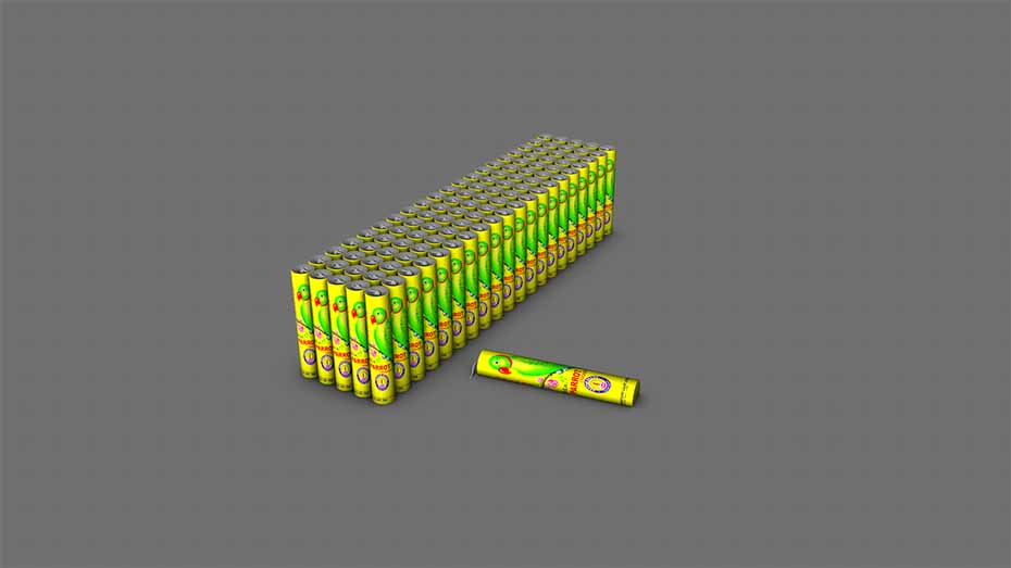 Parrot Crackers Bundle Cinema 4d model Free Download