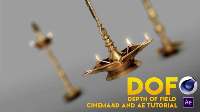 Cinema 4d Depth of Field Easy Way