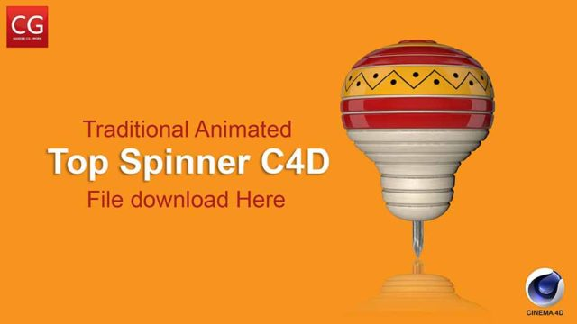 Top Spinner c4d Free Download