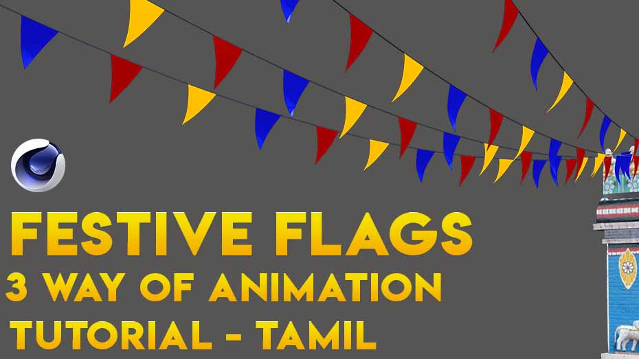 3 Type of Color Paper Animation in Cinema 4d Tutorial – Tamil