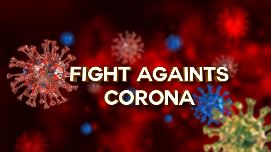 FIGHT AGAINST CORONA II FREE C4D & AE PROJECT TEMPLATE
